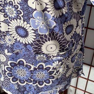 mc Tops - MC2 XL flowered scrub top